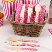 Carnival Pink Cutlery Set (24)
